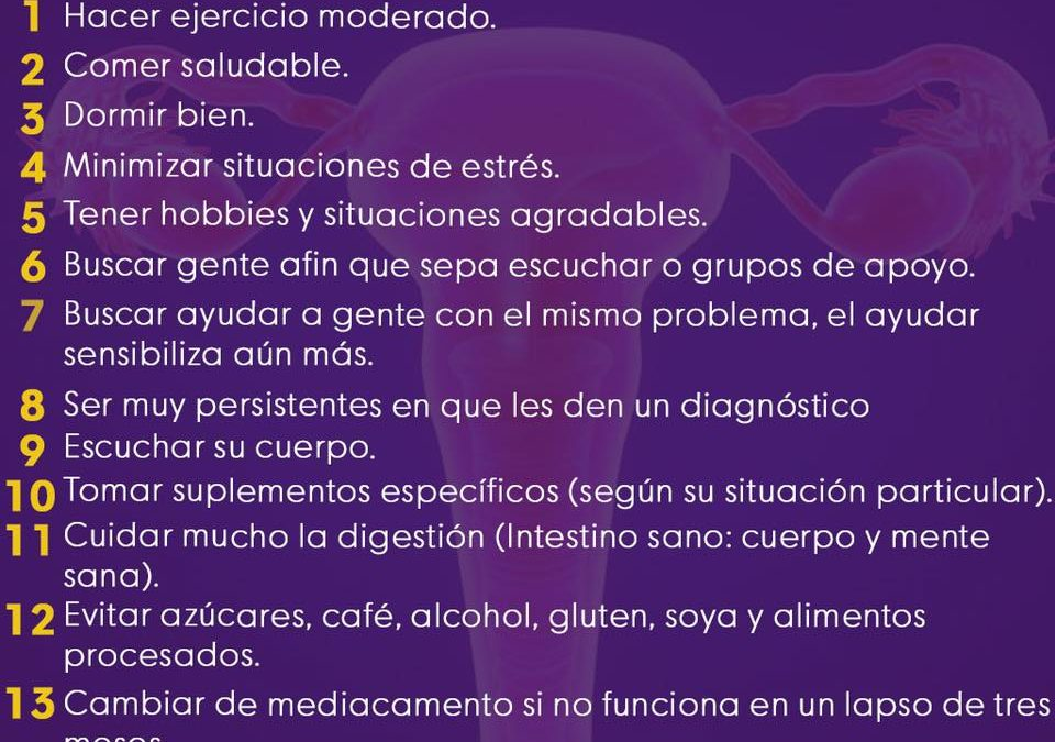 15 tips para la endometriosis
