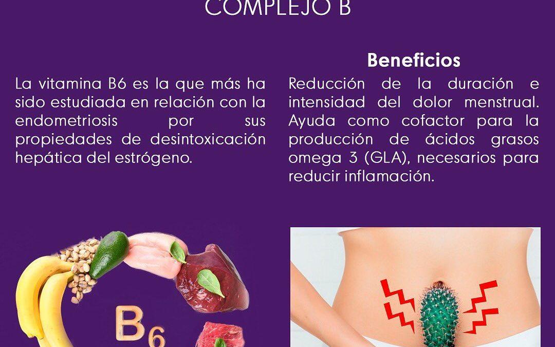 Suplementos para la endometriosis: Complejo B