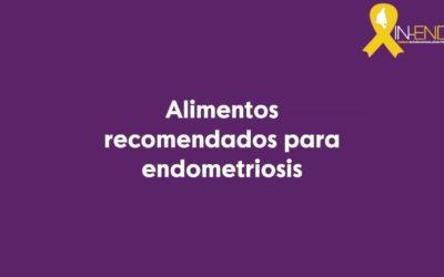 Alimentos recomendados para endometriosis